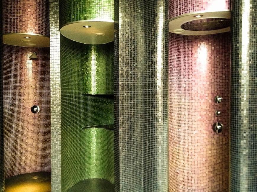Experience showers, Espa Riga