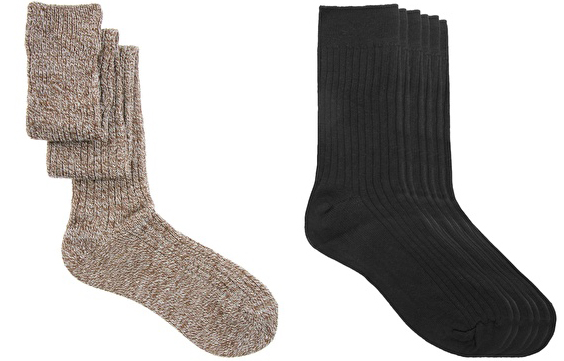 Socks Travel essentials what to pack