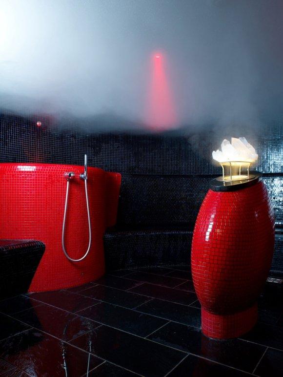 1st Floor steam room, espa Riga