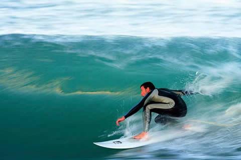 Surfing Durban