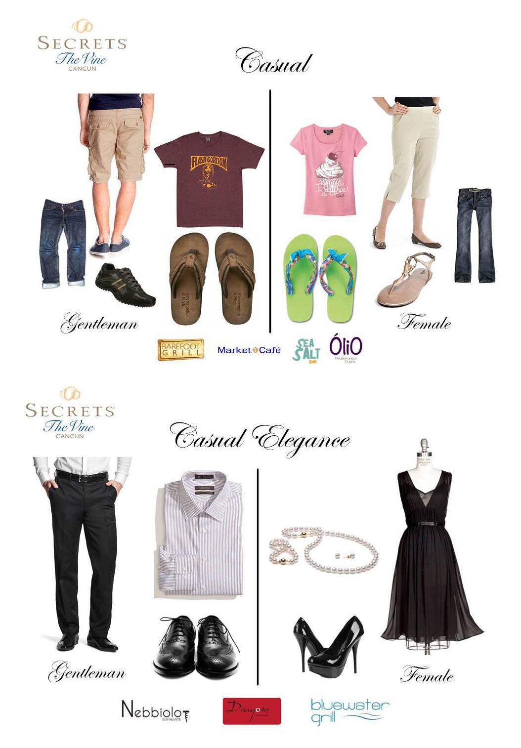 Elegant Casual Dress Code | Dress images