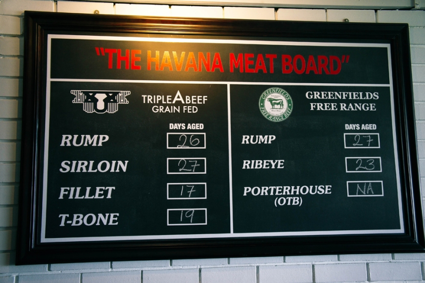 Havana Grill Meat Board