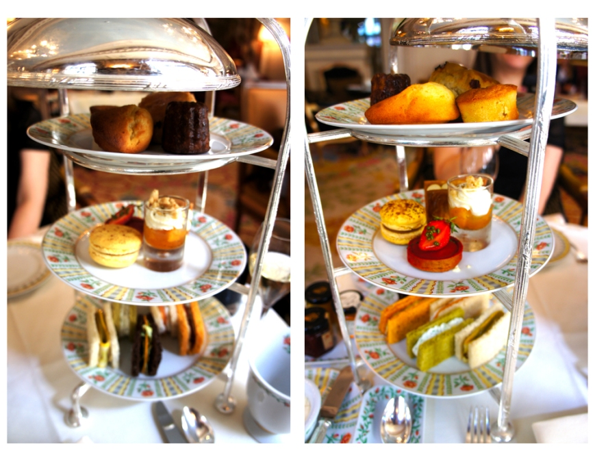 La galerie Afternoon Tea georges V