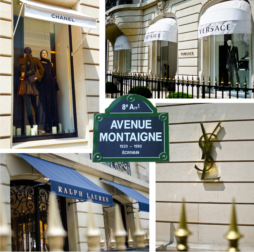 Best Shopping Paris Montaigne