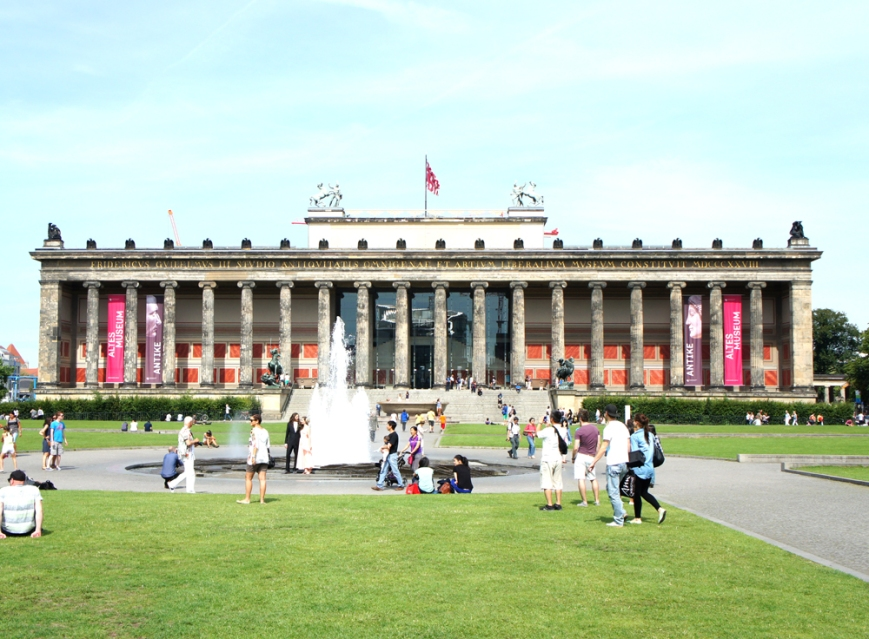 Altes Museum in the Lustgarten