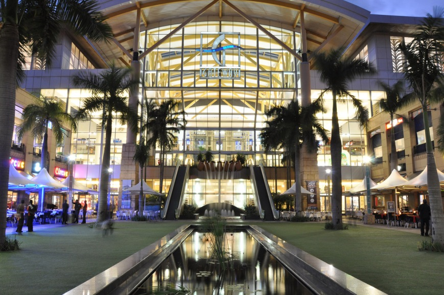 Gateway Shoppertainment Centre in Durban
