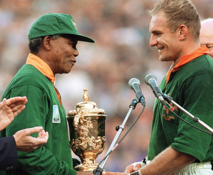 Rugby world cup 1995 South Africa