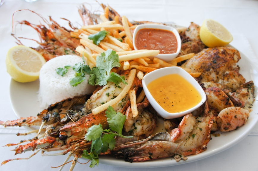 cuisine seafood south africa