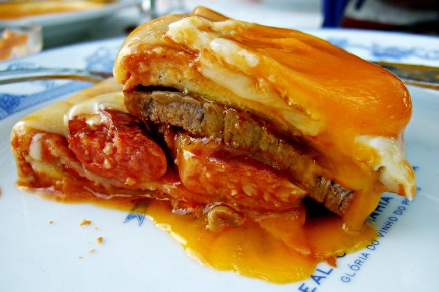 Francesinha top ten things to do in Porto