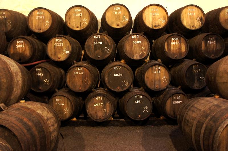 Taylor's Port Wine Cellar Tour porto