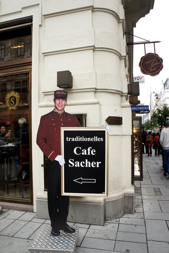 Sacher Hotel cafte Torte