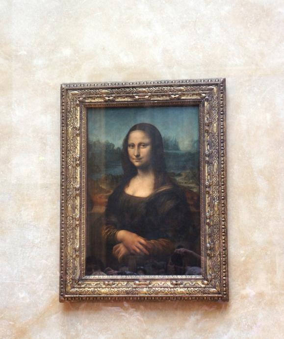 Mona Lisa Louvre Express Tour Paris